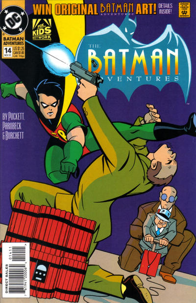 Cover for The Batman Adventures (DC, 1992 series) #14