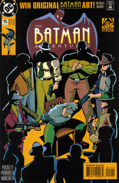 Cover for The Batman Adventures (DC, 1992 series) #15