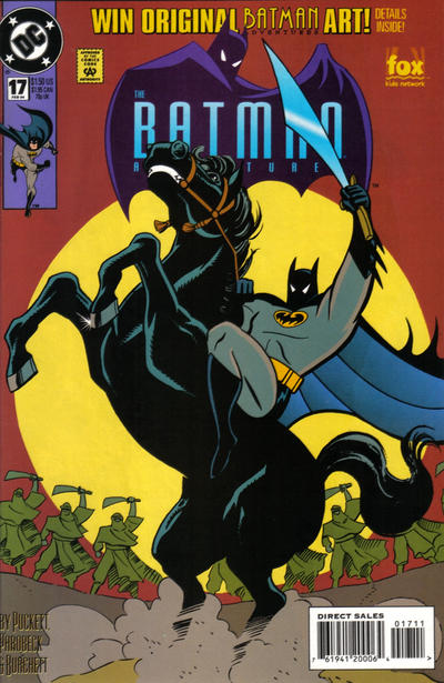 Cover for The Batman Adventures (DC, 1992 series) #17