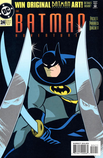 Cover for The Batman Adventures (DC, 1992 series) #24