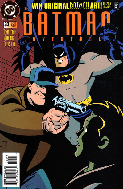 Cover for The Batman Adventures (DC, 1992 series) #33