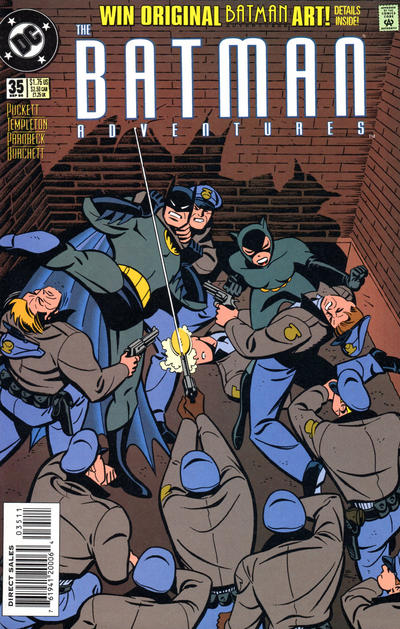 Cover for The Batman Adventures (DC, 1992 series) #35