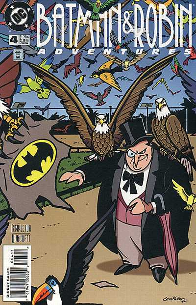 Cover for The Batman and Robin Adventures (DC, 1995 series) #4
