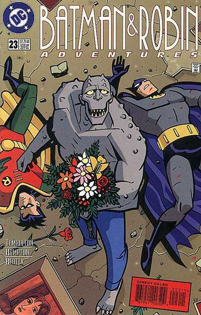 Cover for The Batman and Robin Adventures (DC, 1995 series) #23