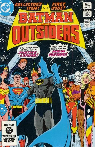 Cover for Batman and the Outsiders (1983 series) #1 [Canadian Newsstand]