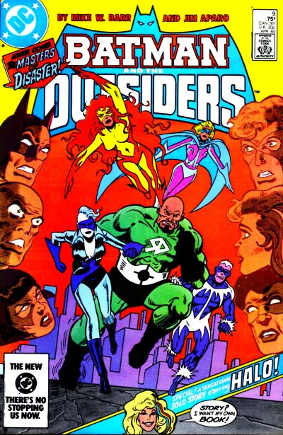 Cover for Batman and the Outsiders (1983 series) #9 [Direct]