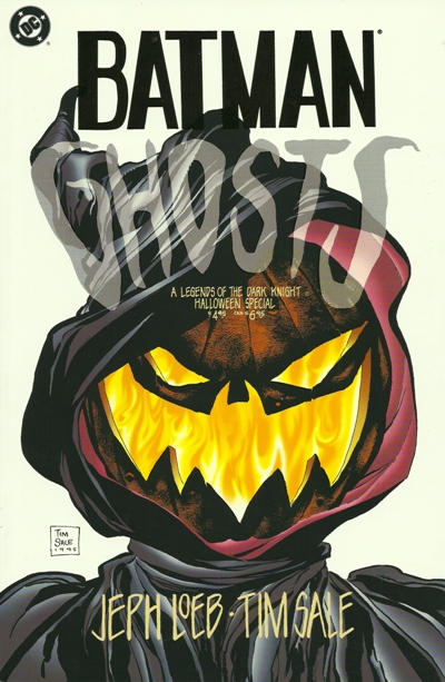 Cover for Batman: Ghosts Legends of the Dark Knight Halloween Special (DC, 1995 series) #[nn]