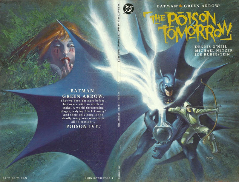 Cover for Batman / Green Arrow: The Poison Tomorrow (DC, 1992 series)