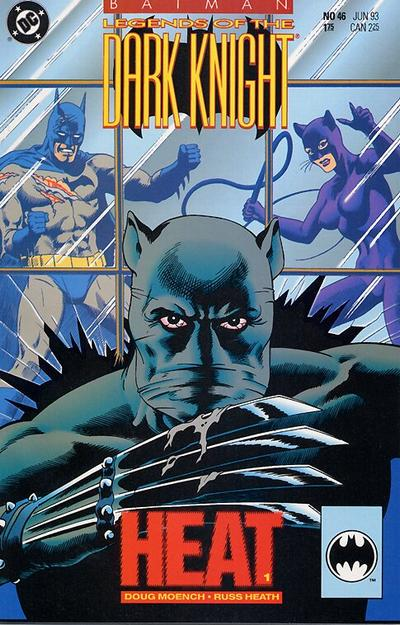 Cover for Batman: Legends of the Dark Knight (DC, 1992 series) #46