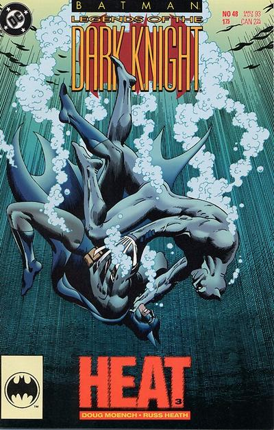 Cover for Batman: Legends of the Dark Knight (DC, 1992 series) #48