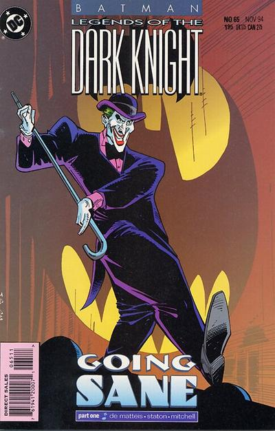 Cover for Batman: Legends of the Dark Knight (DC, 1992 series) #65