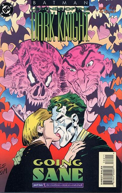 Cover for Batman: Legends of the Dark Knight (DC, 1992 series) #66