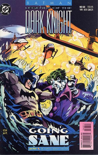 Cover for Batman: Legends of the Dark Knight (DC, 1992 series) #68