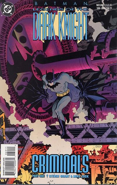 Cover for Batman: Legends of the Dark Knight (DC, 1992 series) #69
