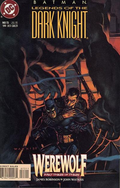 Cover for Batman: Legends of the Dark Knight (DC, 1992 series) #73