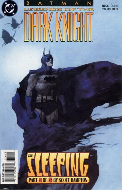 Cover for Batman: Legends of the Dark Knight (DC, 1992 series) #76