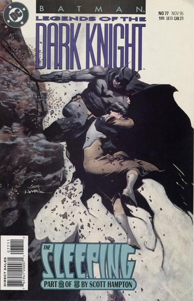 Cover for Batman: Legends of the Dark Knight (DC, 1992 series) #77