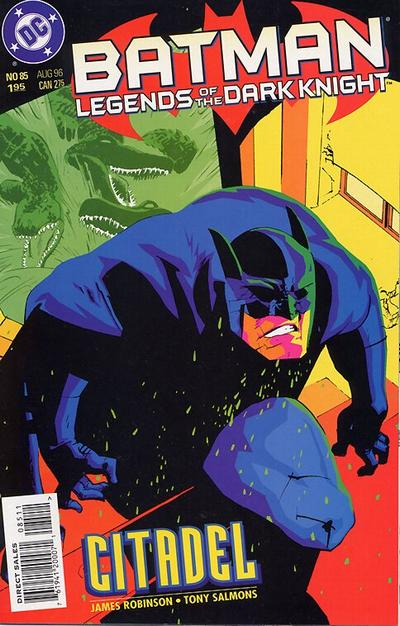 Cover for Batman: Legends of the Dark Knight (DC, 1992 series) #85