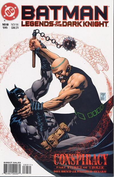 Cover for Batman: Legends of the Dark Knight (DC, 1992 series) #88