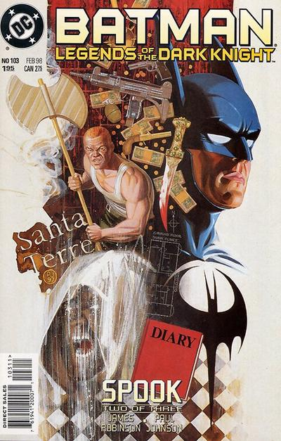 Cover for Batman: Legends of the Dark Knight (DC, 1992 series) #103