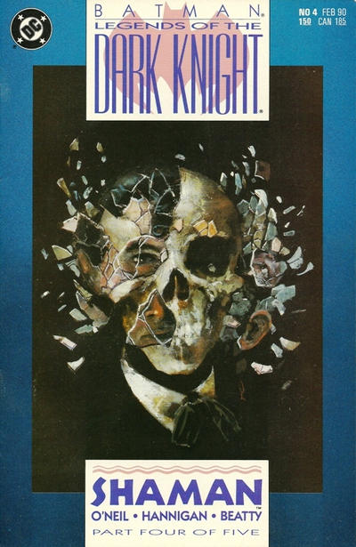 Cover for Legends of the Dark Knight (DC, 1989 series) #4