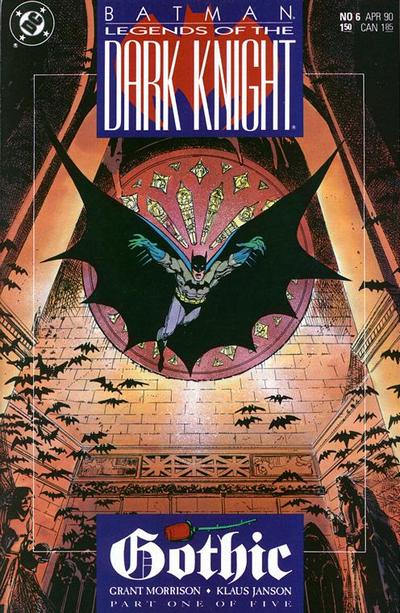 Cover for Legends of the Dark Knight (1989 series) #6