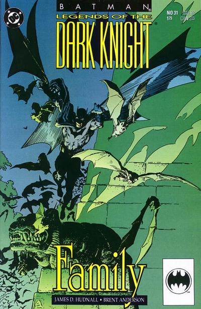 Cover for Legends of the Dark Knight (DC, 1989 series) #31