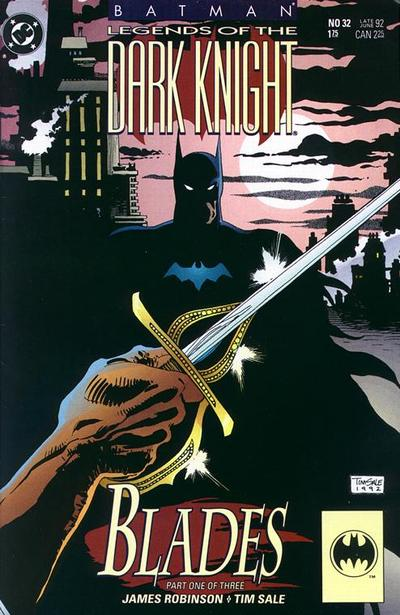 Cover for Legends of the Dark Knight (1989 series) #32