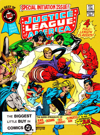 Cover for The Best of DC (1979 series) #31 [Newsstand Edition (Canadian)]