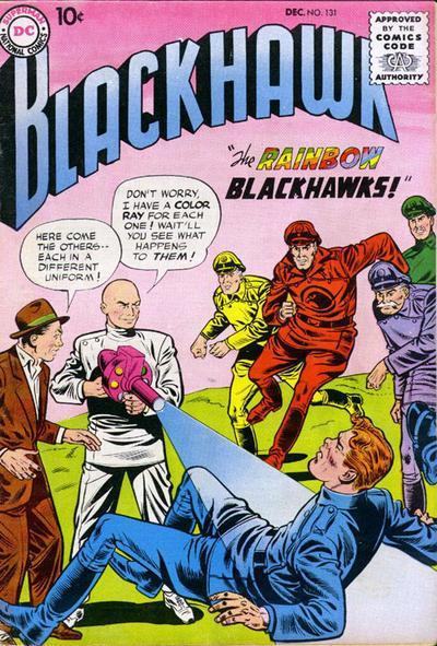 Cover for Blackhawk (1957 series) #131