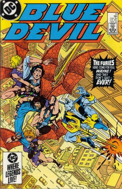Cover for Blue Devil (DC, 1984 series) #10