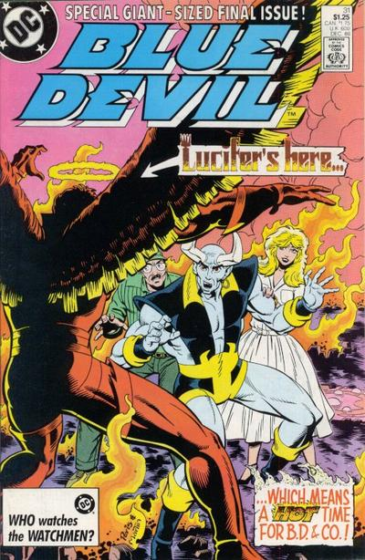 Cover for Blue Devil (DC, 1984 series) #31 [Direct]