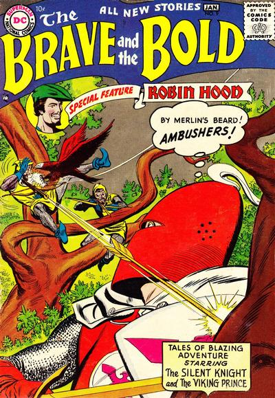 Cover for The Brave and the Bold (DC, 1955 series) #9