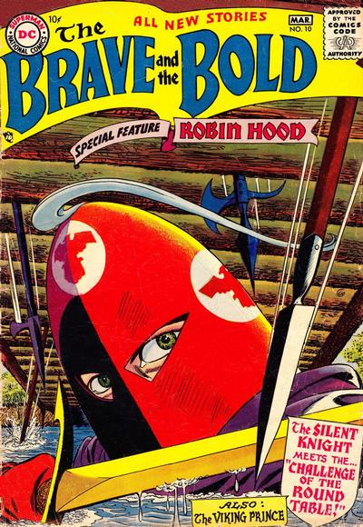 Cover for The Brave and the Bold (DC, 1955 series) #10