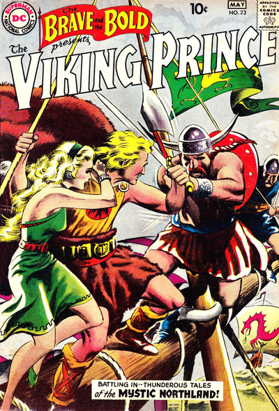 Cover for The Brave and the Bold (DC, 1955 series) #23