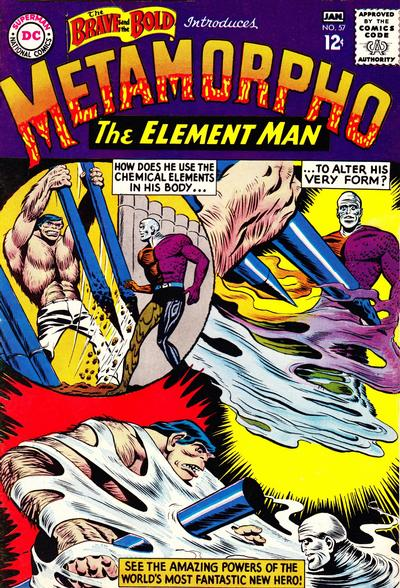 Cover for The Brave and the Bold (DC, 1955 series) #57