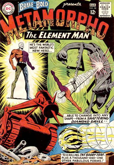 Cover for The Brave and the Bold (DC, 1955 series) #58