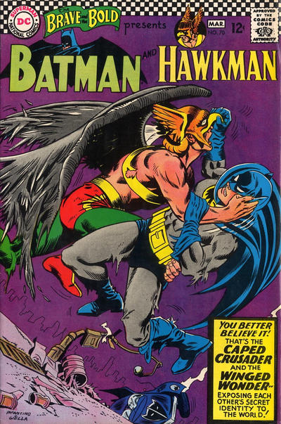 Cover for The Brave and the Bold (DC, 1955 series) #70