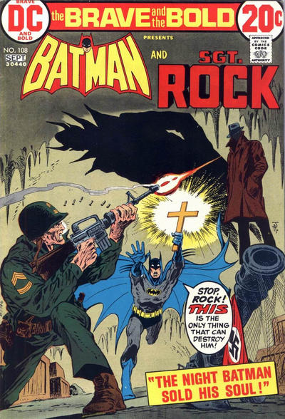 Cover for The Brave and the Bold (DC, 1955 series) #108