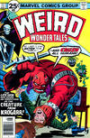 Cover for Weird Wonder Tales (Marvel, 1973 series) #17