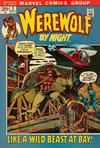 Cover for Werewolf by Night (Marvel, 1972 series) #2