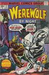 Cover for Werewolf by Night (Marvel, 1972 series) #32 [Regular Edition]