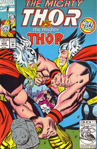 Cover Thumbnail for Thor (Marvel, 1966 series) #458 [Direct]