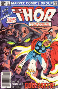 Cover Thumbnail for Thor Annual (Marvel, 1966 series) #10