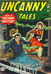 Cover Thumbnail for Uncanny Tales (Marvel, 1952 series) #2