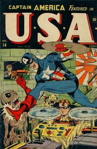 Cover Thumbnail for USA Comics (Marvel, 1941 series) #14