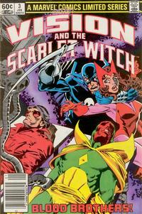 Cover Thumbnail for The Vision and the Scarlet Witch (Marvel, 1982 series) #3 [Newsstand Edition]