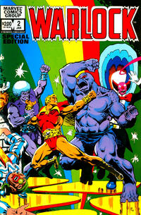 Cover Thumbnail for Warlock (Marvel, 1982 series) #2