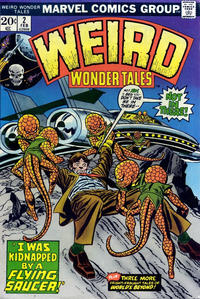Cover Thumbnail for Weird Wonder Tales (Marvel, 1973 series) #2