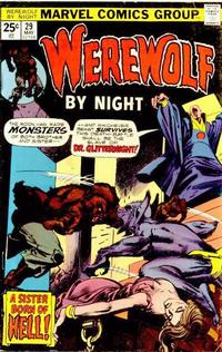 Cover Thumbnail for Werewolf by Night (Marvel, 1972 series) #29